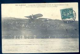 Cpa Du 22 St Brieuc Journée Aviation Aérodrome Cesson 1910 Busson S' élève Aux Applaudissements De 40000 Personnes LZ36 - Saint-Brieuc