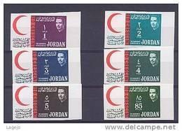 JORDANIE 0402/07B Croissant Rouge - Croix Rouge - Jordanie