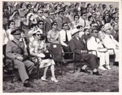 CONGO ELISABETHVILLE Fête Nationale 20  Juillet 1956  Les Autorités Belges Photo Amateur Format Environ 7, 5 Cm X 5,5 Cm - Afrique