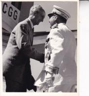 CONGO ELISABETHVILLE Ministre Camille HUYSMANS 28 Juillet 1956  Photo Amateur Format Environ 7, 5 Cm X 5,5 Cm - Afrique