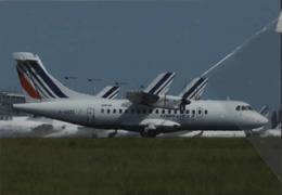 Aero France Airlinair Airlines ATR-42 F-GVZC Airways AirFrance At CDG Airplane Franch - 1946-....: Era Moderna