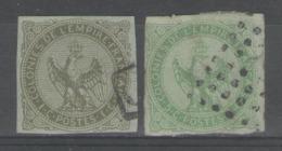 Colonies Générales:  N°1+2 Oblitérés       - Cote 50€ - - Eagle And Crown
