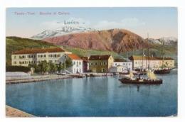 WWI MONTENEGRO, TIVAT, BOCCA DI CATTARO, VIEW OF LOVCEN, AUSTRIAN MILITARY CARD TO ZAGREB - Montenegro