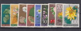 Yugoslavia Republic 1955 Flowers Mi#765-773 Used - 1945-1992 Socialistische Federale Republiek Joegoslavië