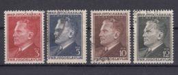 Yugoslavia Republic 1950 Mi#605-608 Used - 1945-1992 Repubblica Socialista Federale Di Jugoslavia