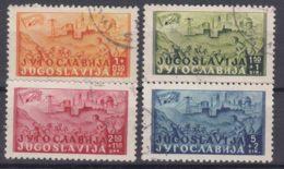 Yugoslavia Republic 1947 Mi#529-532 Used - 1945-1992 Repubblica Socialista Federale Di Jugoslavia