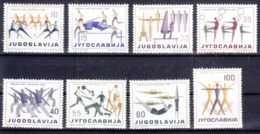 Yugoslavia Republic, Sport 1959 Mi#900-907 Mint Hinged - 1945-1992 Repubblica Socialista Federale Di Jugoslavia
