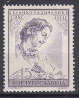 Yugoslavia Republic 1953 Mi#734 Mint Hinged - 1945-1992 Repubblica Socialista Federale Di Jugoslavia