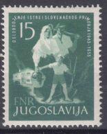 Yugoslavia Republic 1953 Mi#733 Mint Hinged - Nuevos