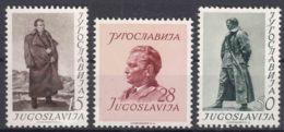 Yugoslavia Republic 1952 Mi#693-695 Mint Hinged - 1945-1992 Repubblica Socialista Federale Di Jugoslavia
