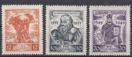 Yugoslavia Republic 1951 Mi#668-670 Mint Hinged - 1945-1992 Repubblica Socialista Federale Di Jugoslavia