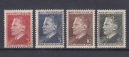 Yugoslavia Republic 1950 Mi#605-608 Mint Hinged - 1945-1992 Repubblica Socialista Federale Di Jugoslavia