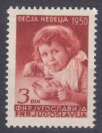 Yugoslavia Republic 1950 Mi#609 Mint Hinged - 1945-1992 Repubblica Socialista Federale Di Jugoslavia