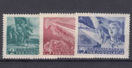Yugoslavia Republic 1950 Mi#598-600 Mint Hinged - 1945-1992 Repubblica Socialista Federale Di Jugoslavia