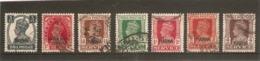 INDIA - NABHA 1938 - 1942 FINE USED ALL DIFFERENT LOT Cat £9+ - Nabha