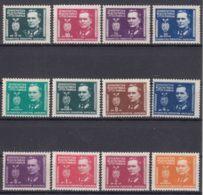 Yugoslavia Republic, President Tito 1945 Mi#545-457 And Mi#461-468 Mint Hinged - 1945-1992 Repubblica Socialista Federale Di Jugoslavia