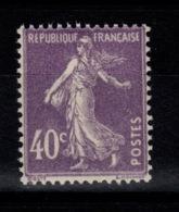 Semeuse YV 236 N** Cote 4,20 Eur - France