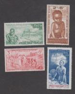 Colonies Françaises -Timbres Neufs ** Afrique Equatoriale Française PA N°10 à 13 - Neufs