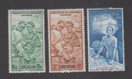 Colonies Françaises -Timbres Neufs ** Cameroun - PA N°19 à 21 - Cameroun (1915-1959)