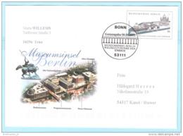 BUND BRD Brief Cover Used Ganzsache FDC Museumsinsel Berlin (30360) - [7] Federal Republic