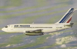 Air France Airlines B737 N-4504 Airways AirFrance GUYANE Airplane Franch - 1946-....: Era Moderna