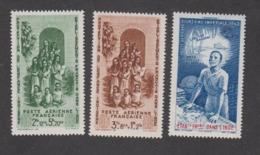 Colonies Françaises -Timbres Neufs ** Inde - PA N°7 à 9 - India (1892-1954)
