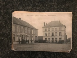 Swevezeele  Maison Communale - Gemeentehuis -  Denoo  ( Zwevezele - Wingene ) - Gelopen 1903 - Wingene