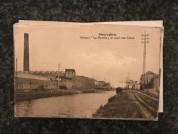 Sweveghem ( Zwevegem) : Weverij La Flandre En Vaart Met Loskaai - Fabriek Usine - Zwevegem