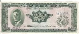 PHILIPPINES 200 PESOS  ND AUNC P 140 - Philippines
