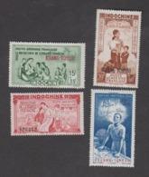 Colonies Françaises -Timbres Neufs ** Kouang -Tchéou - PA N°1 à 4 - Unused Stamps
