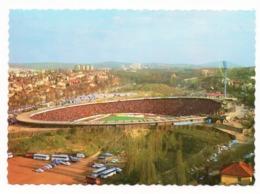 1960s YUGOSLAVIA, SERBIA, BELGRADE, RED STAR FOOTBALL GROUND, CRVENA ZVEZDA, FUDBAL, STADION, ILLUSTR. POSTCARD, MINT - Yugoslavia
