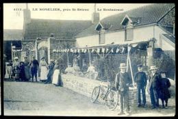 Cpa Du 22 Le Roselier Près De St Brieuc  -- Le Restaurant  LZ35 - Saint-Brieuc