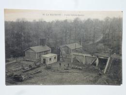 58 LA MACHINE - MINES Carte Rare En état Concours - Puits Sainte-Barbe  DEN1016 - La Machine