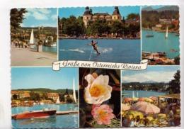 Grusse Von Osterreichs Riviera, Worthersee, Karnten, Austria, Used Postcard [23471] - Austria