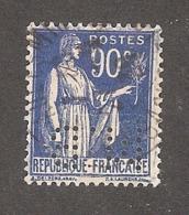Perforé/perfin/lochung France No 368 M.B Sté Des Mines De Houille De Blamy - Perforadas