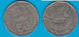 Portugal 50  Escudos K-N Jahrgang 1986  Schön Nr.95 KM 636 - Portugal