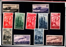 6984B) ITALIA-AOI-1ª Mostra Triennale Delle Terre D'oltremare+ POSTA AEREA - 11 Maggio 1940-MNH** - Italian Eastern Africa