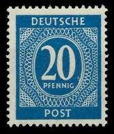KONTROLLRAT ZIFFERN Nr 924a Postfrisch X830206 - Gemeinschaftsausgaben