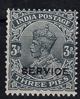 India, 1926, Official, O 109aw, MNH (inverted Watermark) - India (...-1947)