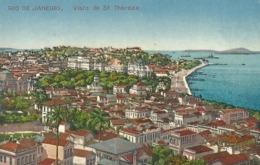 Brasil, Rio De Janeiro, Visto De Santa Tereza. 1924 - Rio De Janeiro