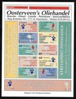 NETHERLANDS Stadspost Privatpost Local Mail NIEUWLEUSEN EK Voetbal EC Football 2000 - Other