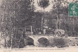 St Anthème - Sur Le Chemin De La Fayolle , Pont De Tromei - Altri Comuni