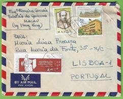 História Postal - Filatelia - Macau - Carta Do Palácio Do Governo - Philately - Macao - China - Cartas
