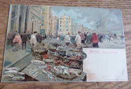 @        NAPLES  NAPOLI MERCATO DI PESCI  ARTISTE RICHTER  N° 403         @ - Napoli (Napels)