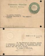 J) 1925 MEXICO, MEXICAN REPUBLIC, 2 CENTS, AZTEC CALENDAR, CIRCULATED COVER, FROM MEXICO TO TOKIO - Mexico