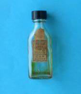 CAR ZAGREB - Fine Hair Oil * Glass Bottle Issued Before WW2 *huile De Cheveux Fins * Bouteille Publiée Avant La WW2 - Beauty Products