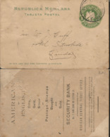 J) 1901 MEXICO, MEXICAN REPUBLIC, EAGLE, 2 CENTS GREEN, PRIVATE PS, CIRCULATED COVER, FROM MEXICO - Mexico