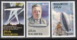 MALDIVES, 1994   Yvert Nº 1708 / 1710  MNH,  Zepelines - Zeppelines