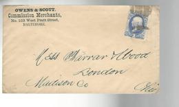 53069 ) USA Postmark Duplex - Lettres & Documents