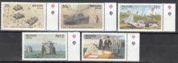 MALDIVES, 1990   Yvert Nº 1280 / 1284 MNH,   50 Aniversario De La Segunda Guerra Mundial - Militares